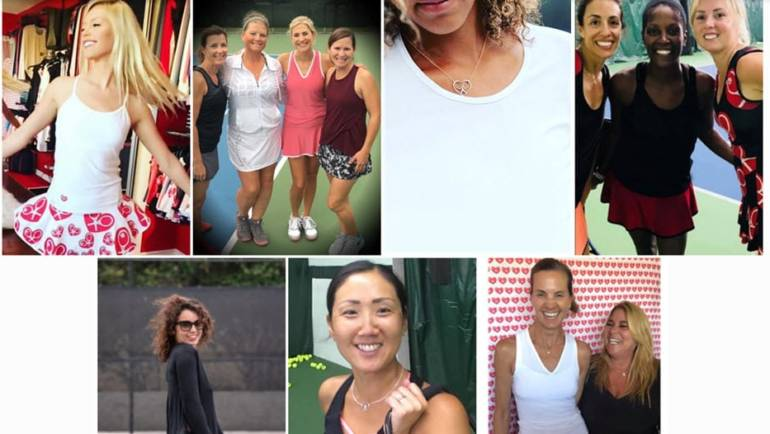 Luxury Women's Tennis Line